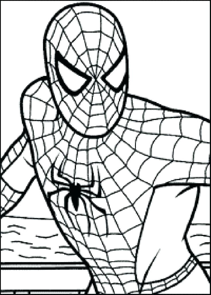736x1030 This Is Coloring Pages Spiderman Images Vs Hulk Superheroes