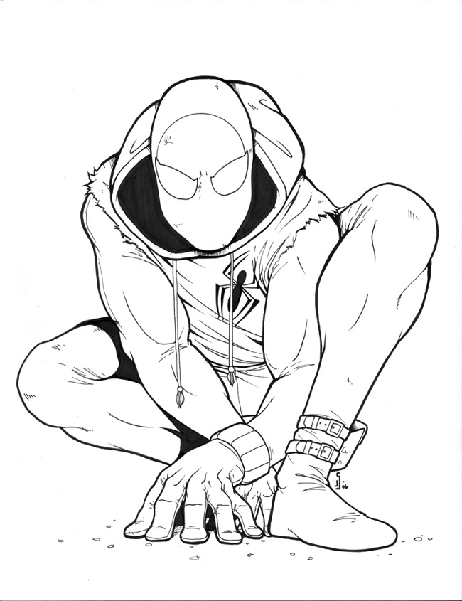 Spiderman Homecoming Drawing at GetDrawings.com | Free for ...