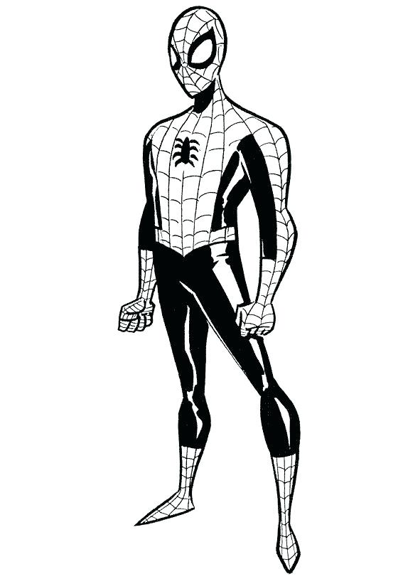 567x814 Spiderman Coloring Pages For Kids Toddlers Toddler