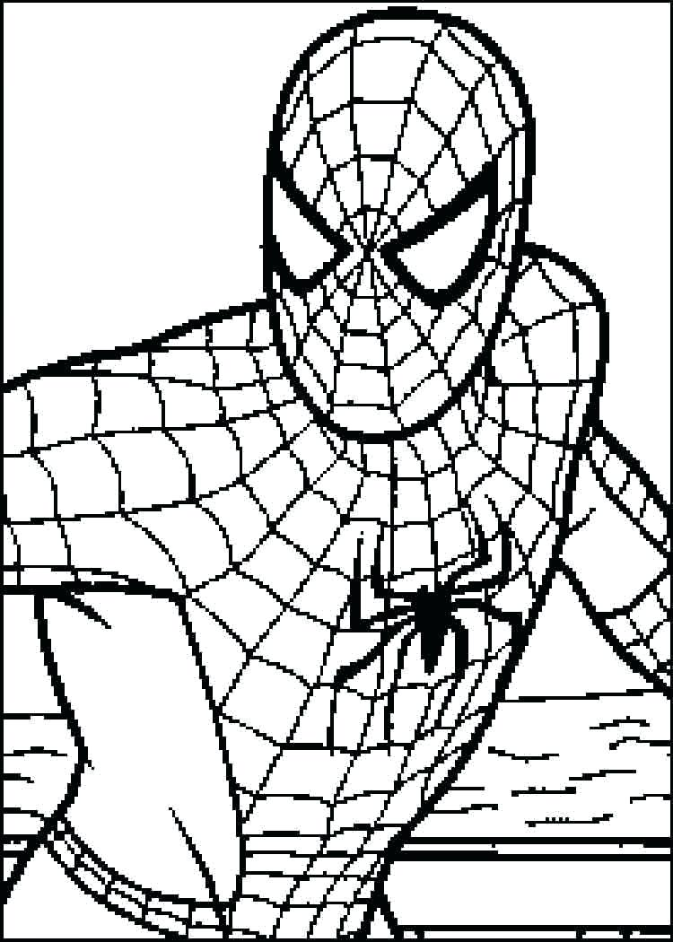 Spiderman Mask Drawing at GetDrawings.com   Free for personal use ...