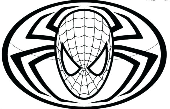 Spiderman Mask Drawing At Getdrawings Free For Personal Use