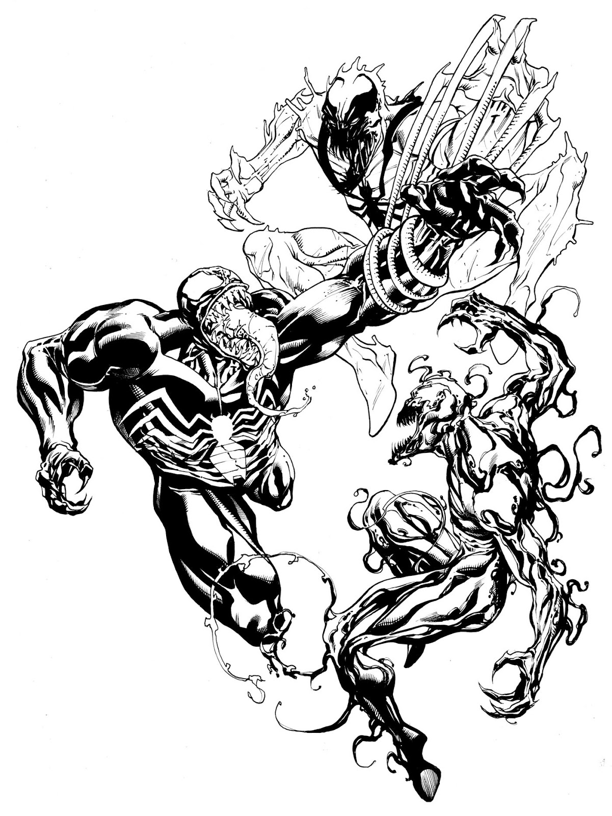 1201x1600 He's Like Venom But Not. Robert Atkins Art