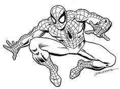 236x174 Spider Man Tattoo Drawings Coloring Pages Spider Man Tattoo