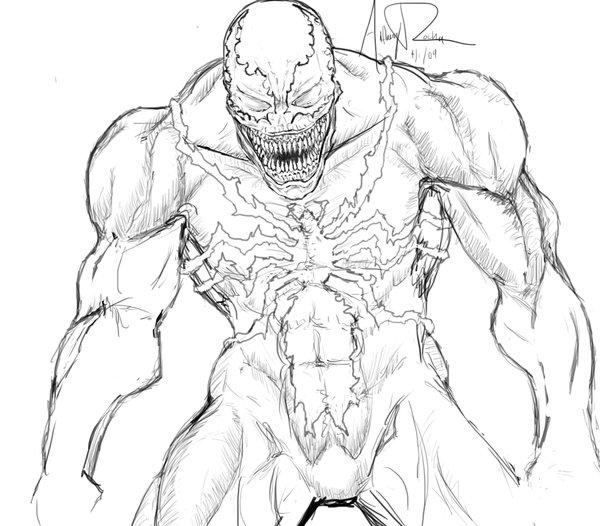 600x526 Venom By Archonyto On DeviantArt