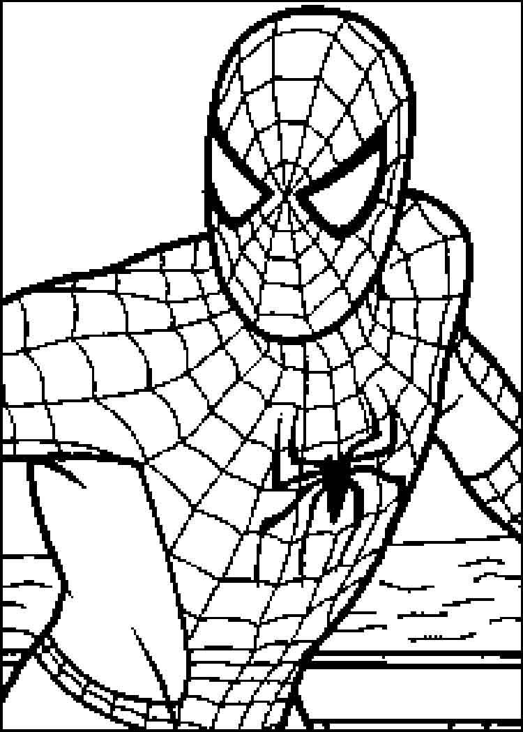 Spiderman Spider Drawing at GetDrawings.com | Free for personal use ...