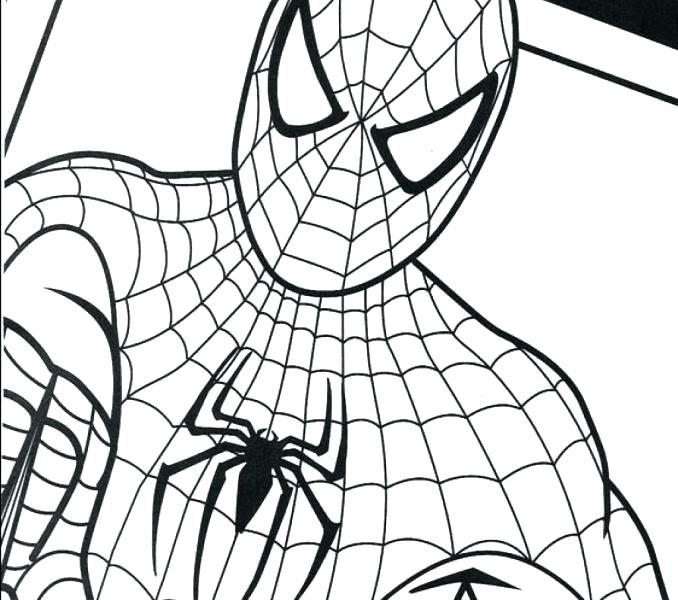 spiderman coloring pages free online - photo#28