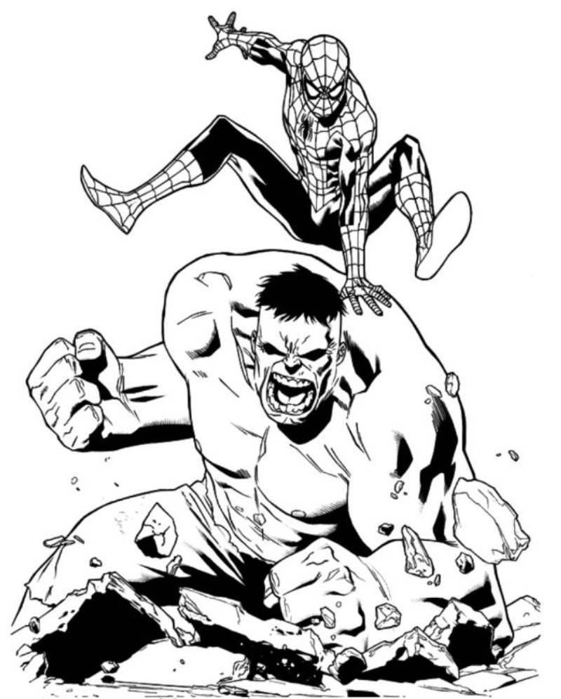 Spiderman Vs Batman Drawing at GetDrawings.com | Free for personal ...