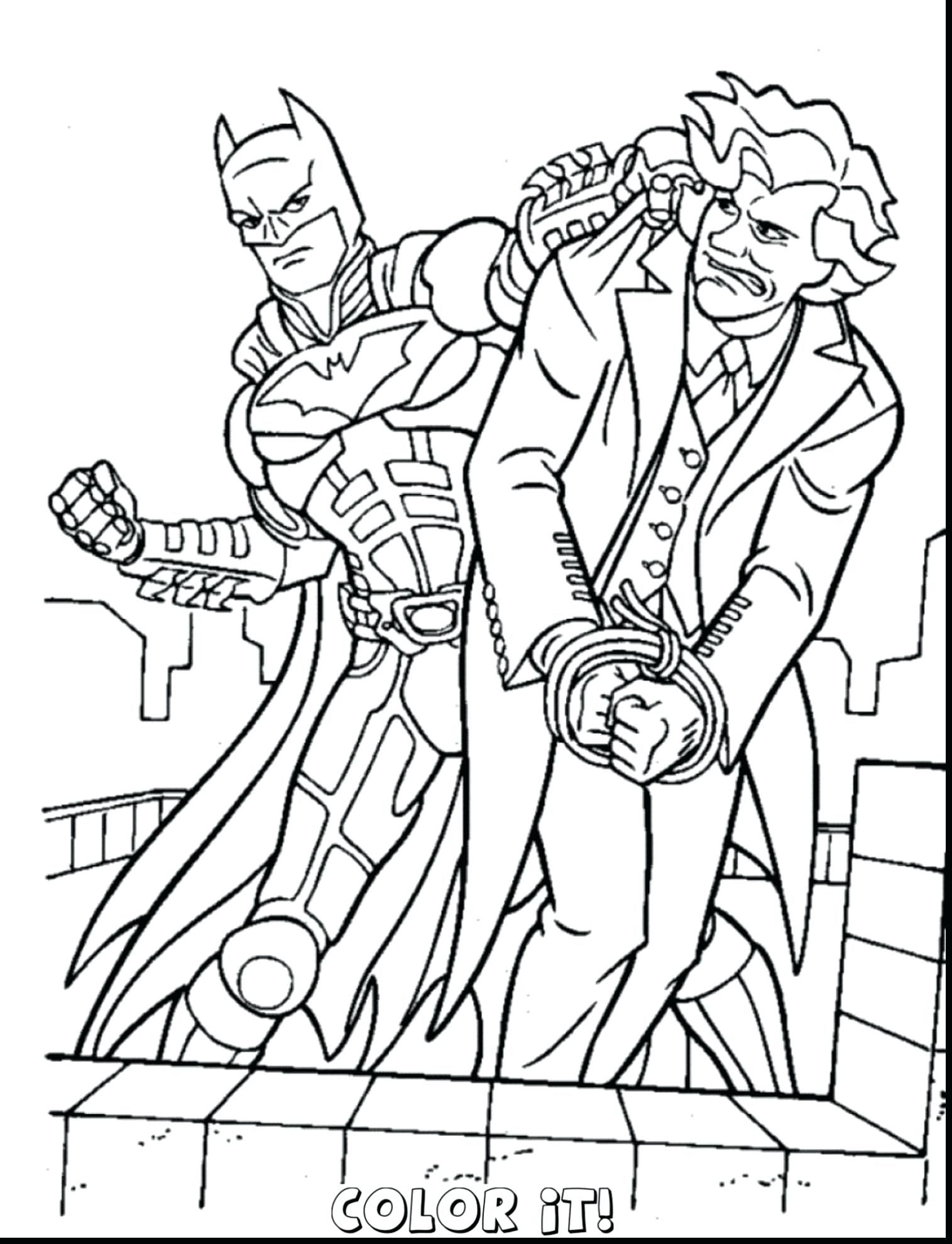 1515x1980 Batman And Spiderman Coloring Pages Free For Kids Colouring P On