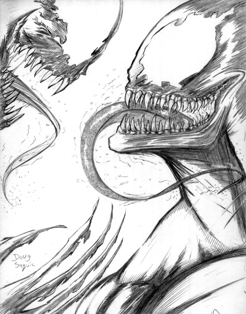 Spiderman vs carnage drawings - photo#55