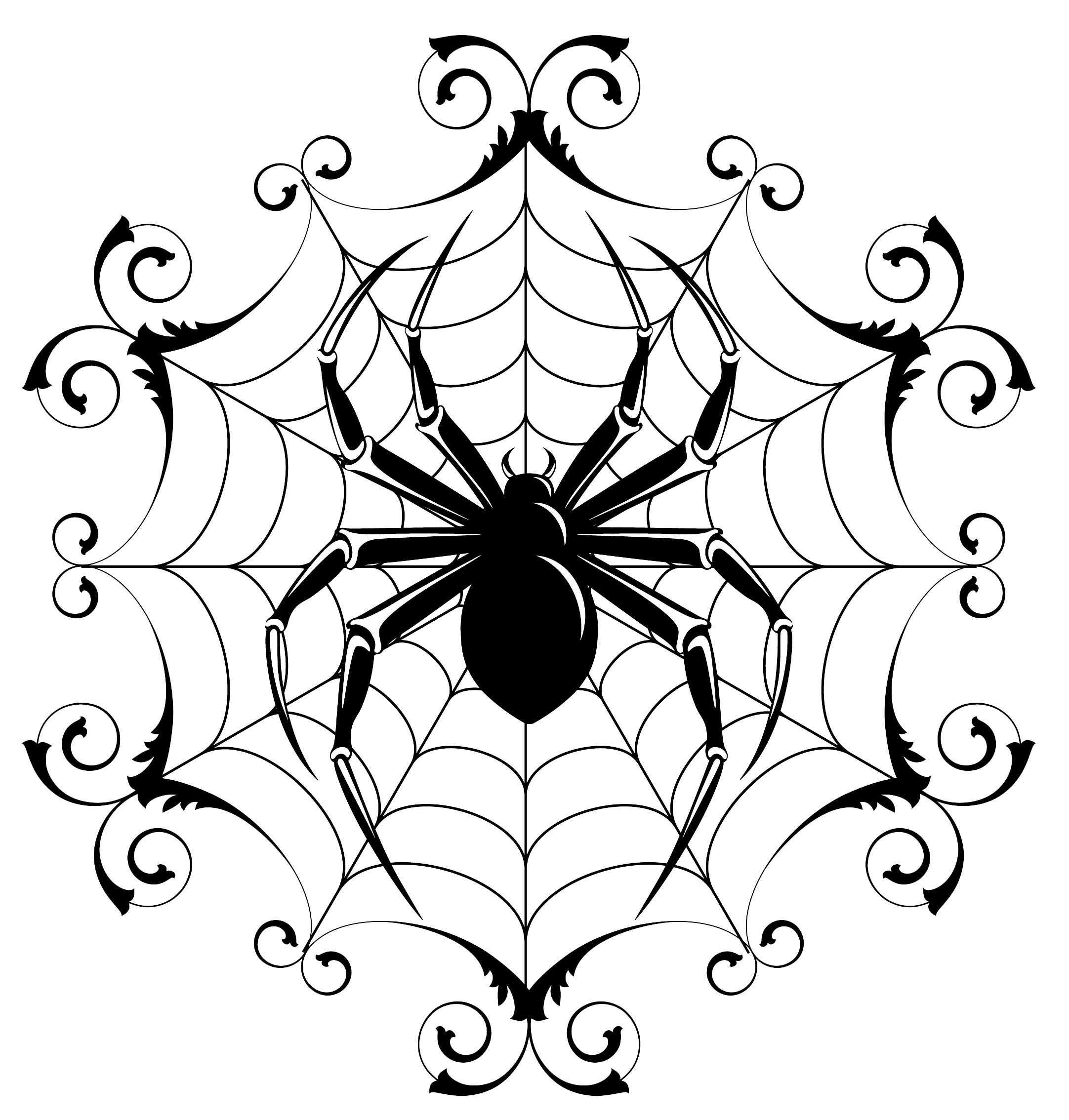 2164x2268 Halloween Drawing Spider Festival Collections