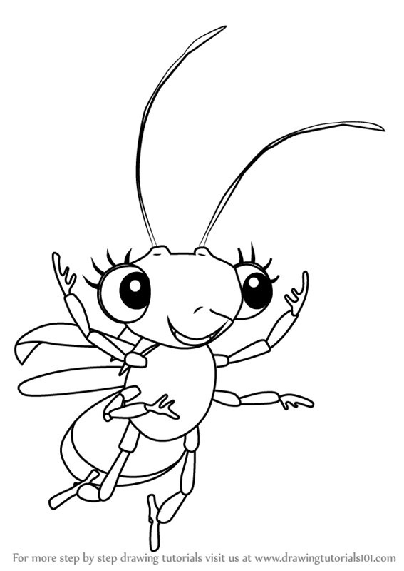 567x800 Learn How To Draw Shimmer From Miss Spider's Sunny Patch Friends