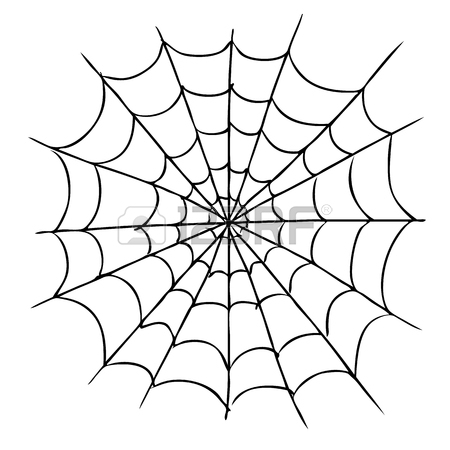 Spiders Web Drawing