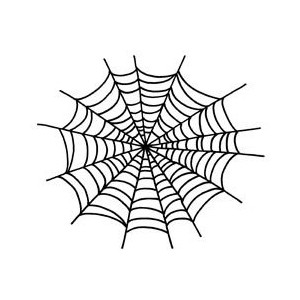 300x300 Drawn Spider Web Transparent