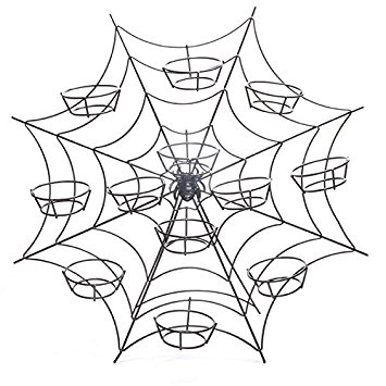 355x355 Spiders Web Halloween Cupcake Stand Cake Baking