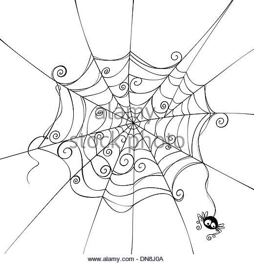 520x540 Cartoon Spider Stock Photos Amp Cartoon Spider Stock Images