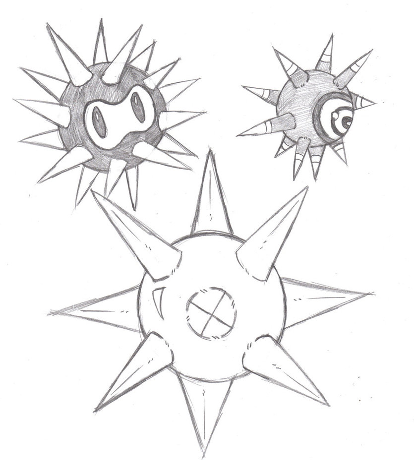 835x956 Sea Urchin Morth Spike By Phycosmiley