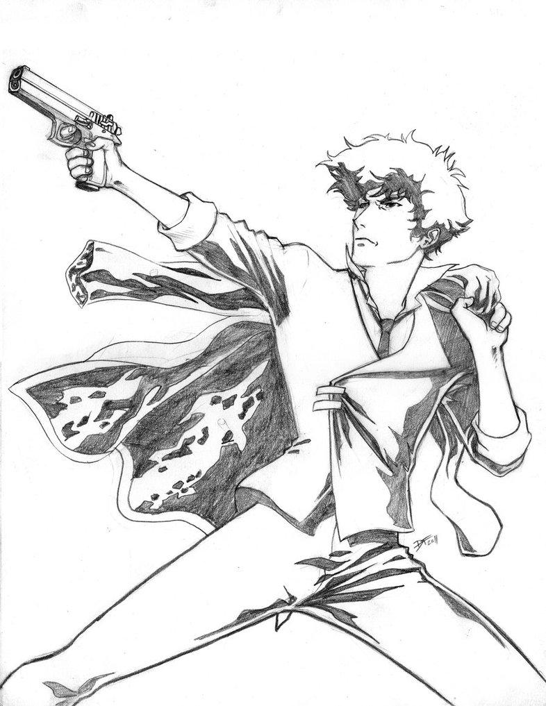 786x1017 Sketch Commish Spike By Davidfernandezart