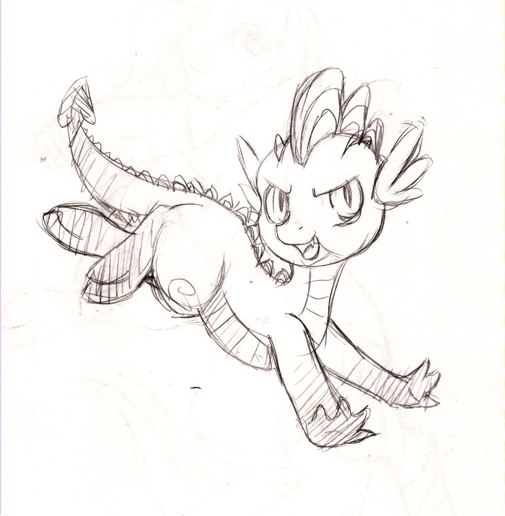 1024x1046 Alternate Rp Spike Sketch By Fuyusfox