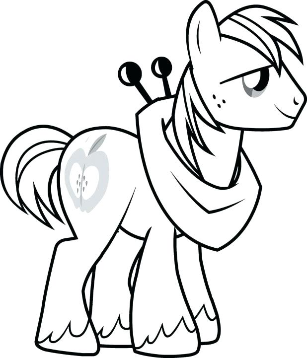 618x721 Spike My Little Pony Coloring Page Kids Under 7 My Little Pony