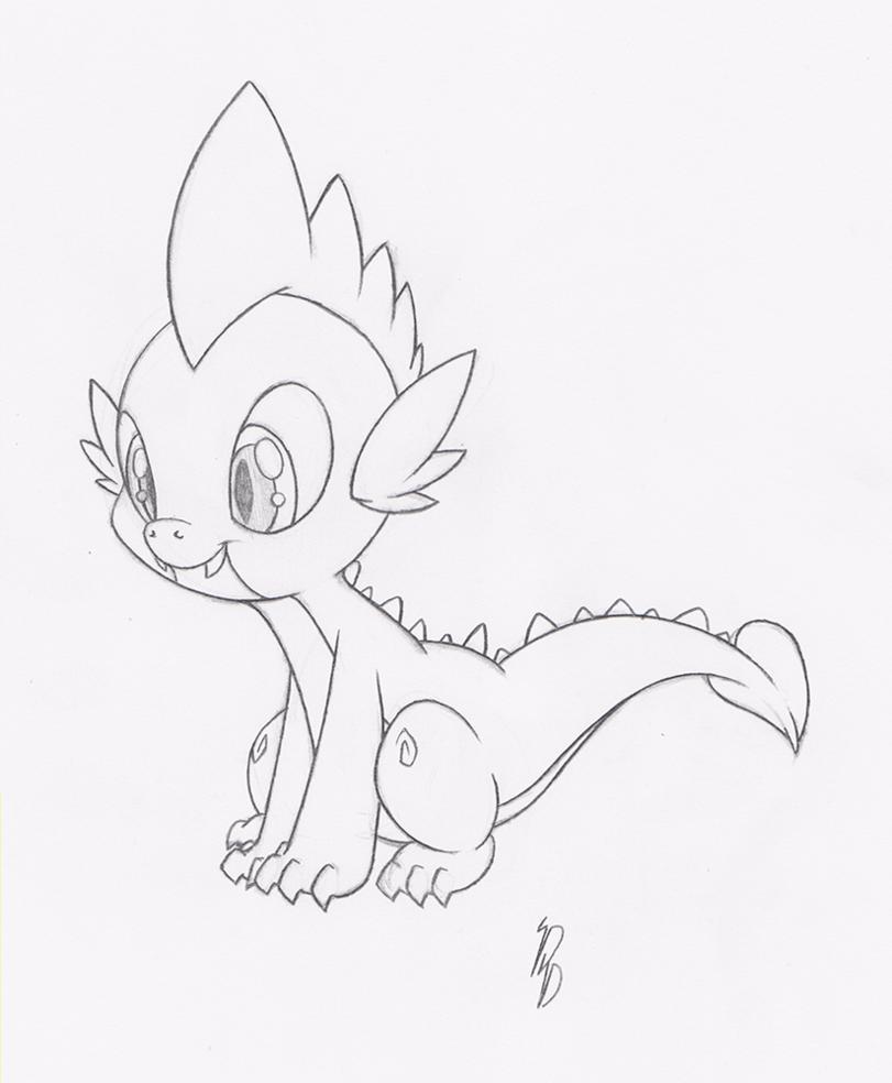 811x984 Spike Sketch By Dfectivedvice
