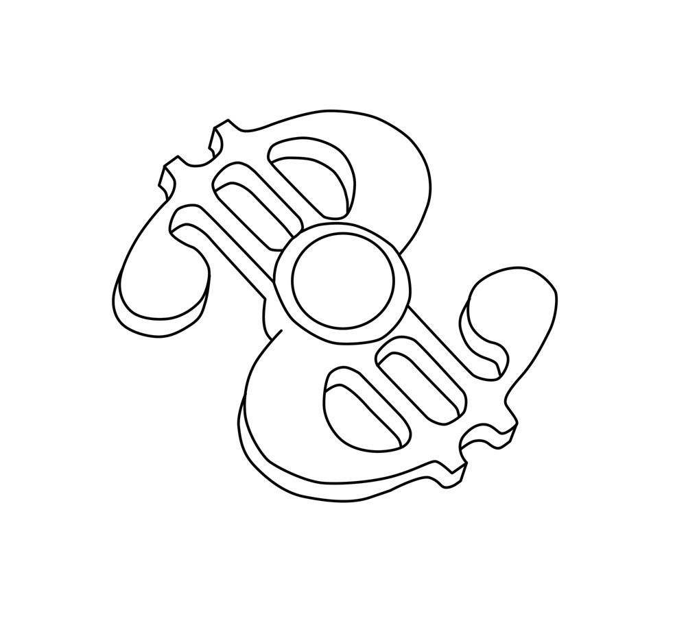 1000x931 Dollar Hand Spinner Printable Coloring Page