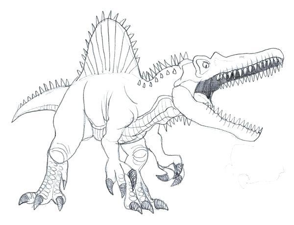 600x458 Spinosaurus Pictures To Print Tyrannosaurus Rex