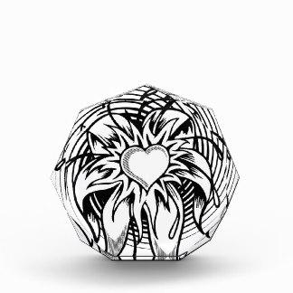 324x324 Black And White Spiral Galaxy Tattoo Flower Heart Tattoo Design