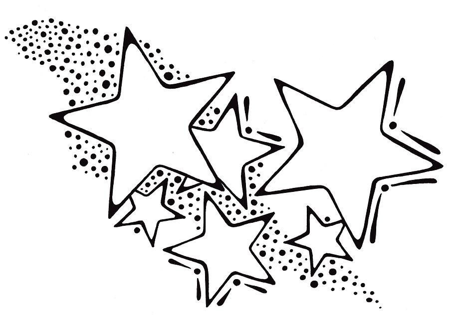 900x640 Milky Way Drawing By Mandy Shupp