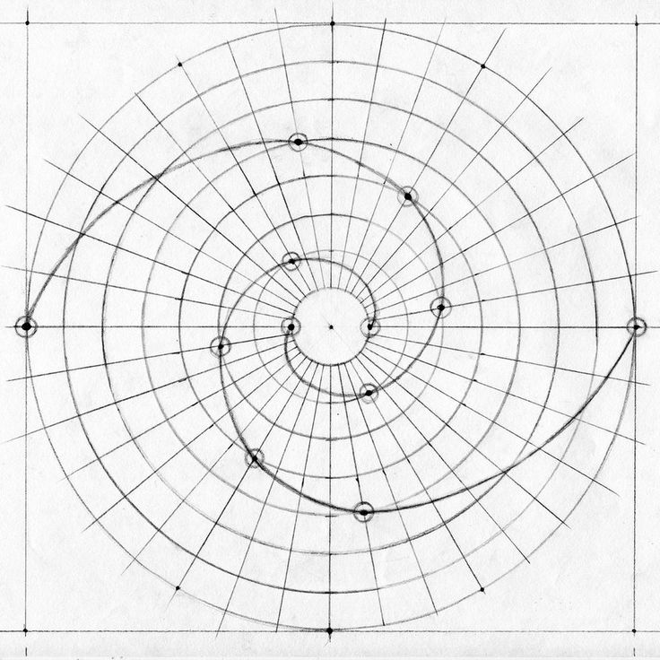 Spiral Line Drawing at GetDrawings.com | Free for personal use ...