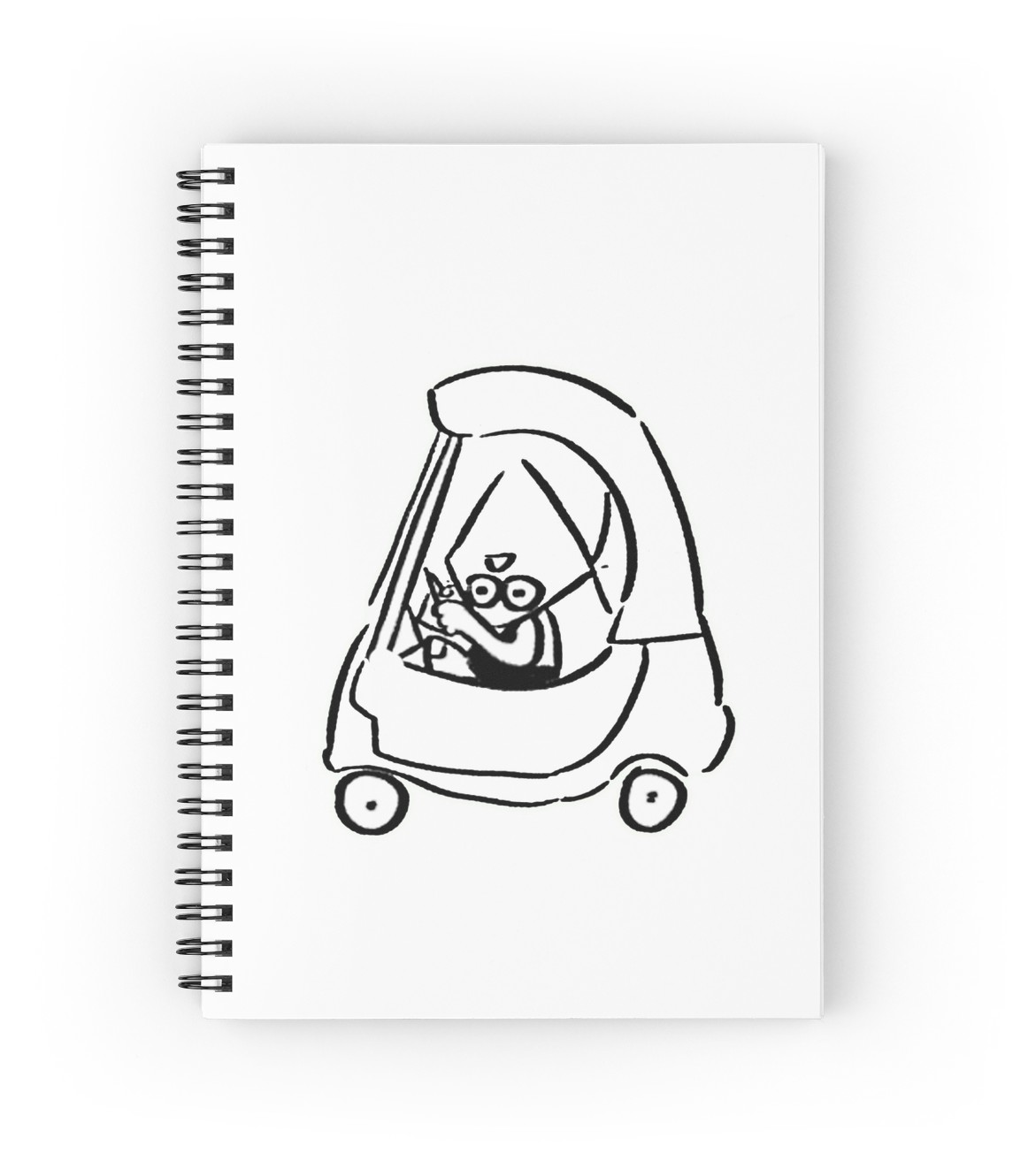 1171x1313 Grand Theft Peridot Spiral Notebooks By Triangle Mother Redbubble
