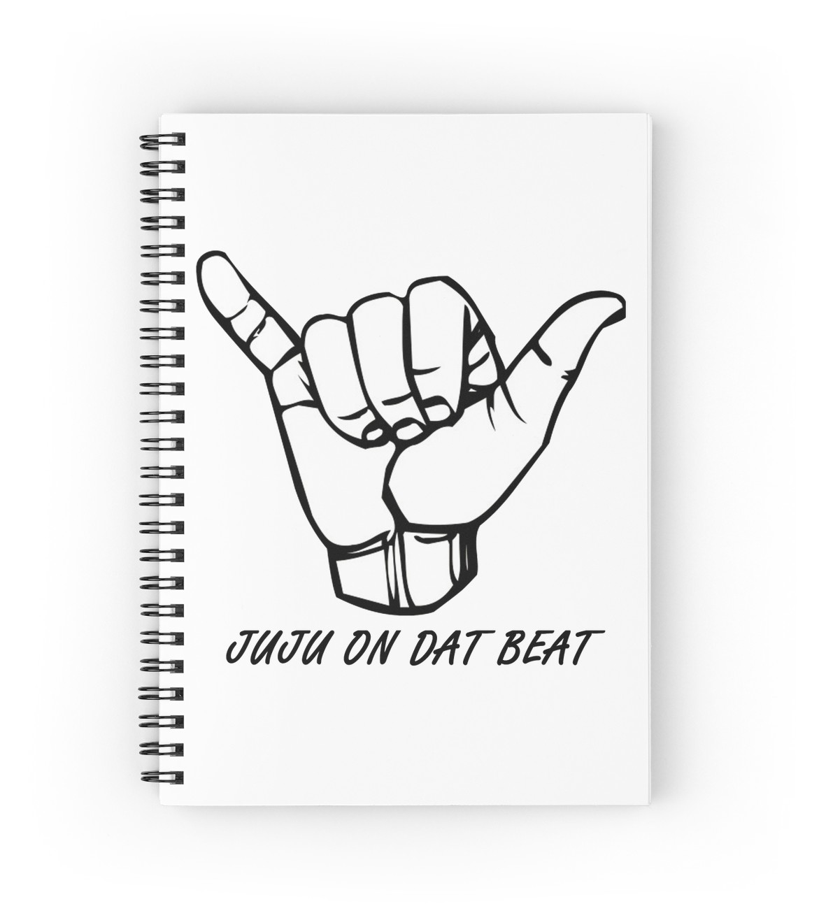 1171x1313 Juju On That Beat Spiral Notebooks By Dylkel Redbubble