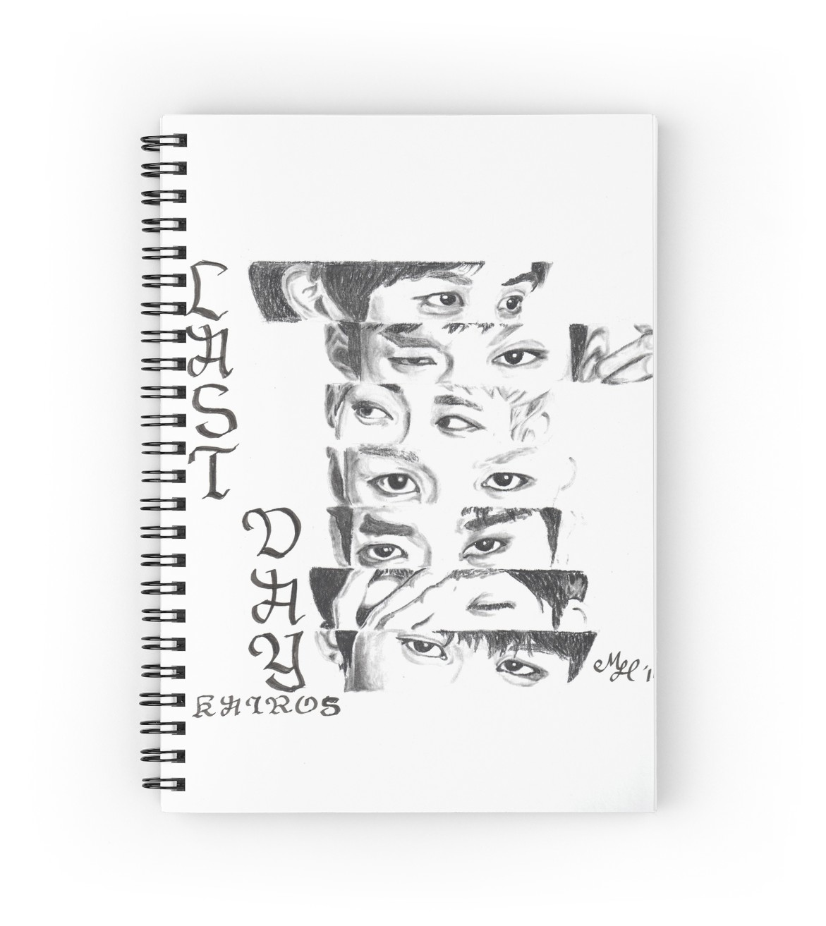 1171x1313 Btob Eyes Spiral Notebooks By Mlhkpopart Redbubble