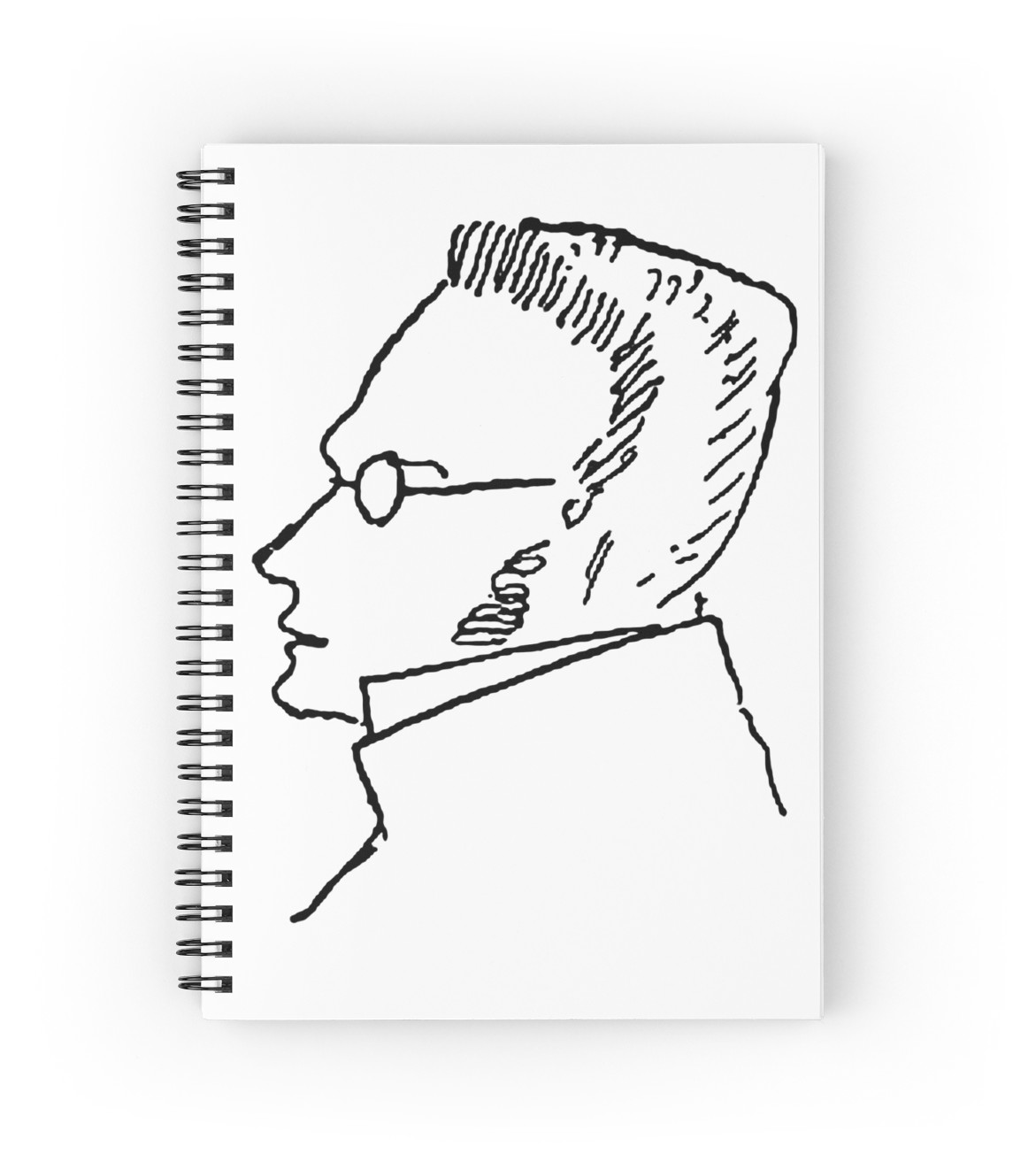 1171x1313 Max Stirner Spiral Notebooks By Nihilistmemes Redbubble