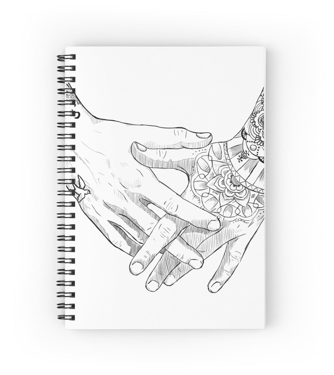 1171x1313 Zayn Malik's Hands Spiral Notebooks By Nyodo Redbubble