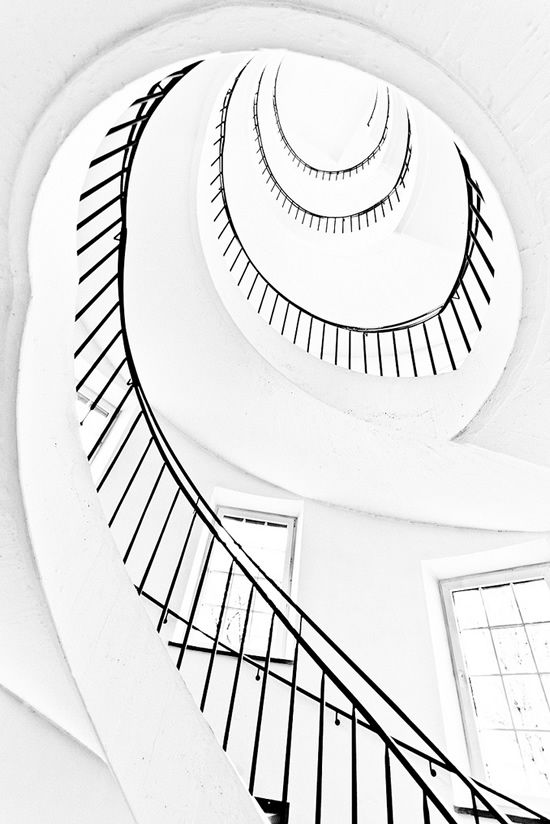 Spiral Staircase Drawing