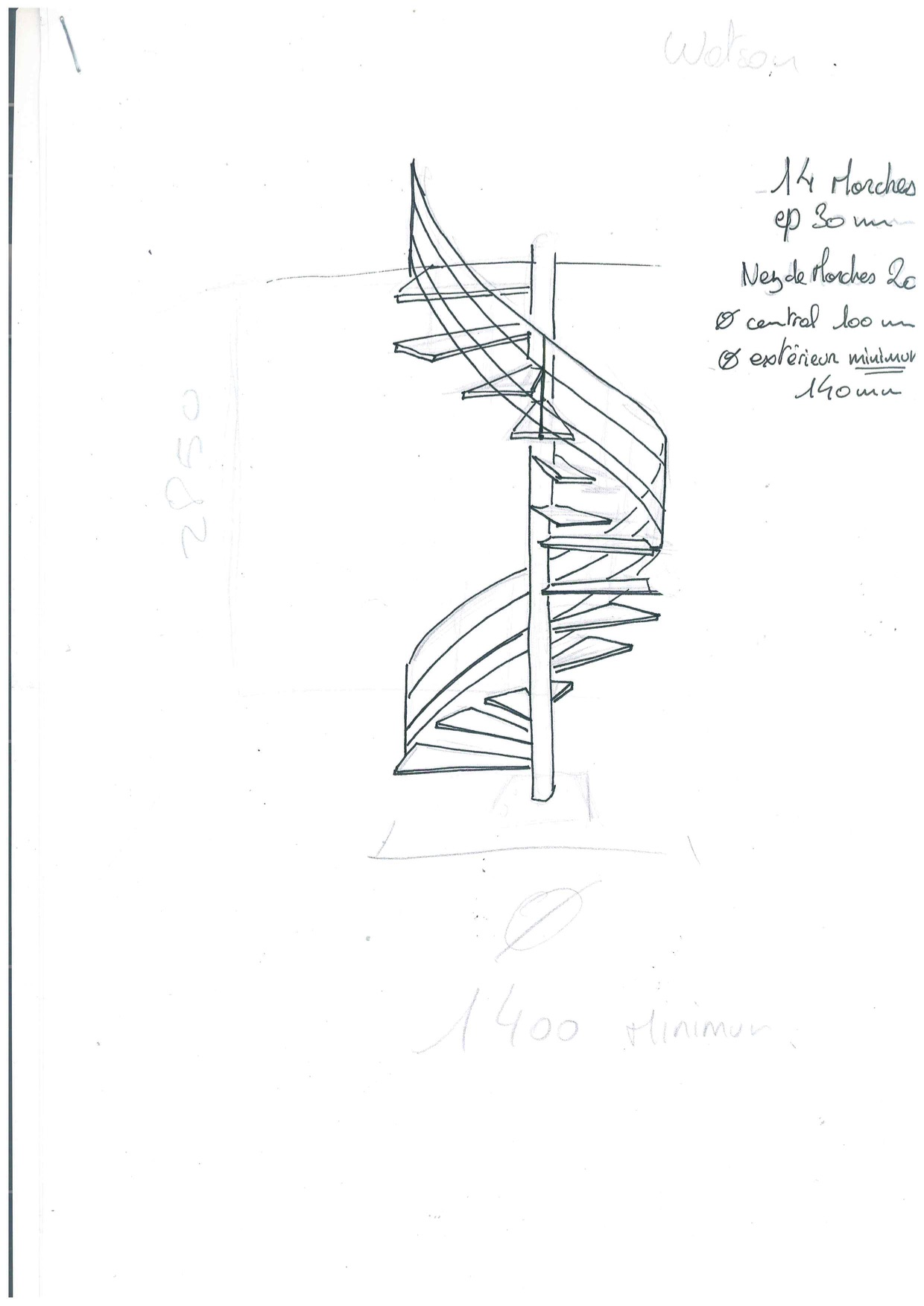 1240x1753 Our Renovation In Provence A Spiral Staircase