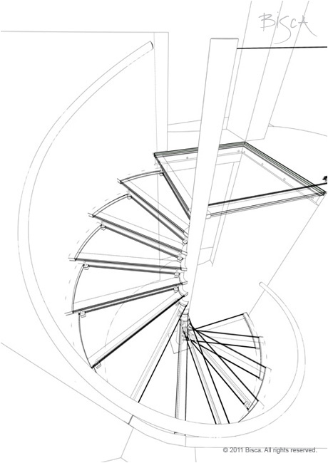 460x650 Spiral Staircase 2177