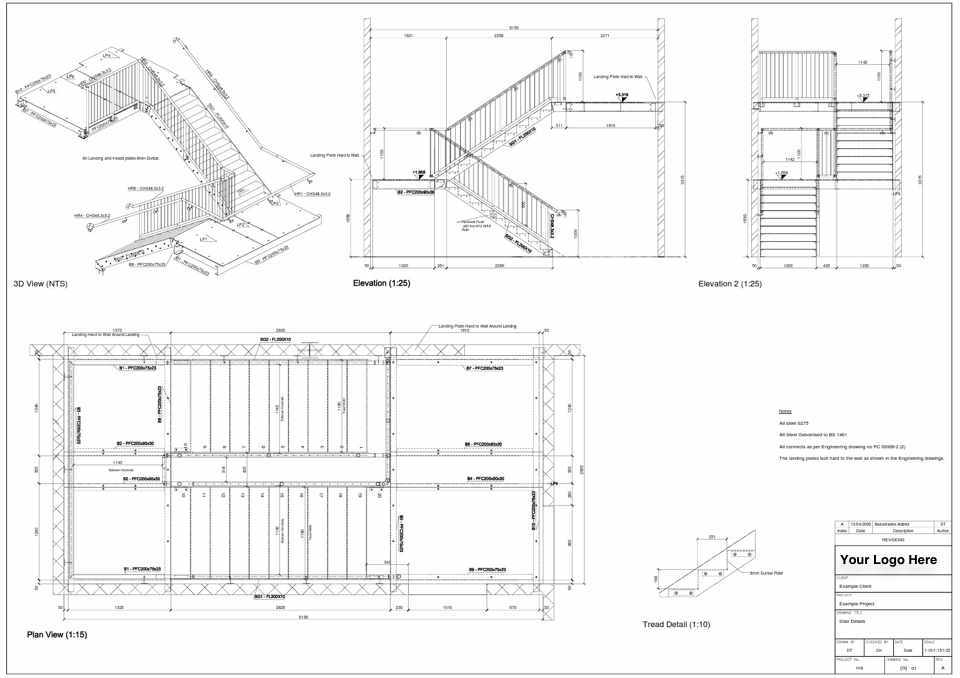 960x678 Staircase Elevation Cad Staircase Gallery
