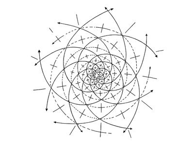 400x300 Intersecting Fibonacci Spirals Fibonacci Spiral And Spiral