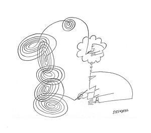 300x265 Spirals Drawings Fine Art America