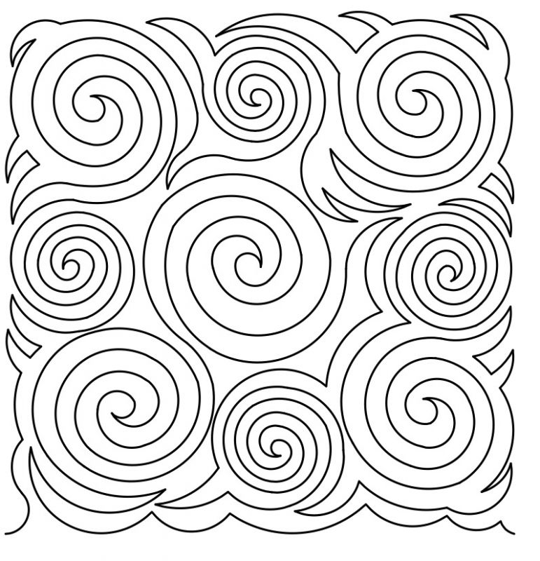 771x800 Spirals Galore 4 E2e By Designs By Deb Geissler