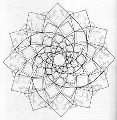 236x241 Spirals And Squares Window Patternsdesign Spiral