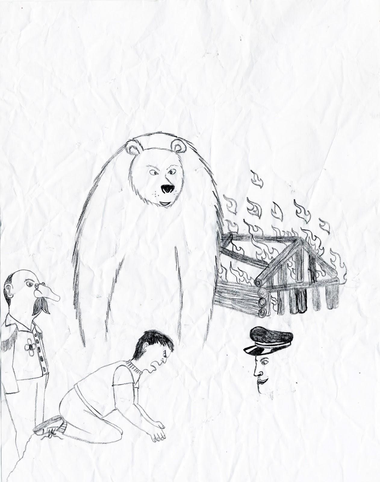 spirit bear drawing at getdrawings com