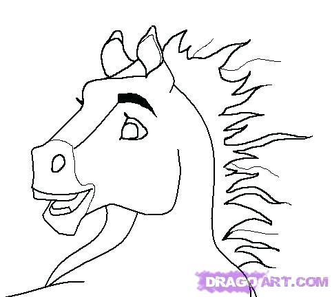 482x432 Spirit Stallion Of The Cimarron Coloring Pages Pin Drawn Spirit 7