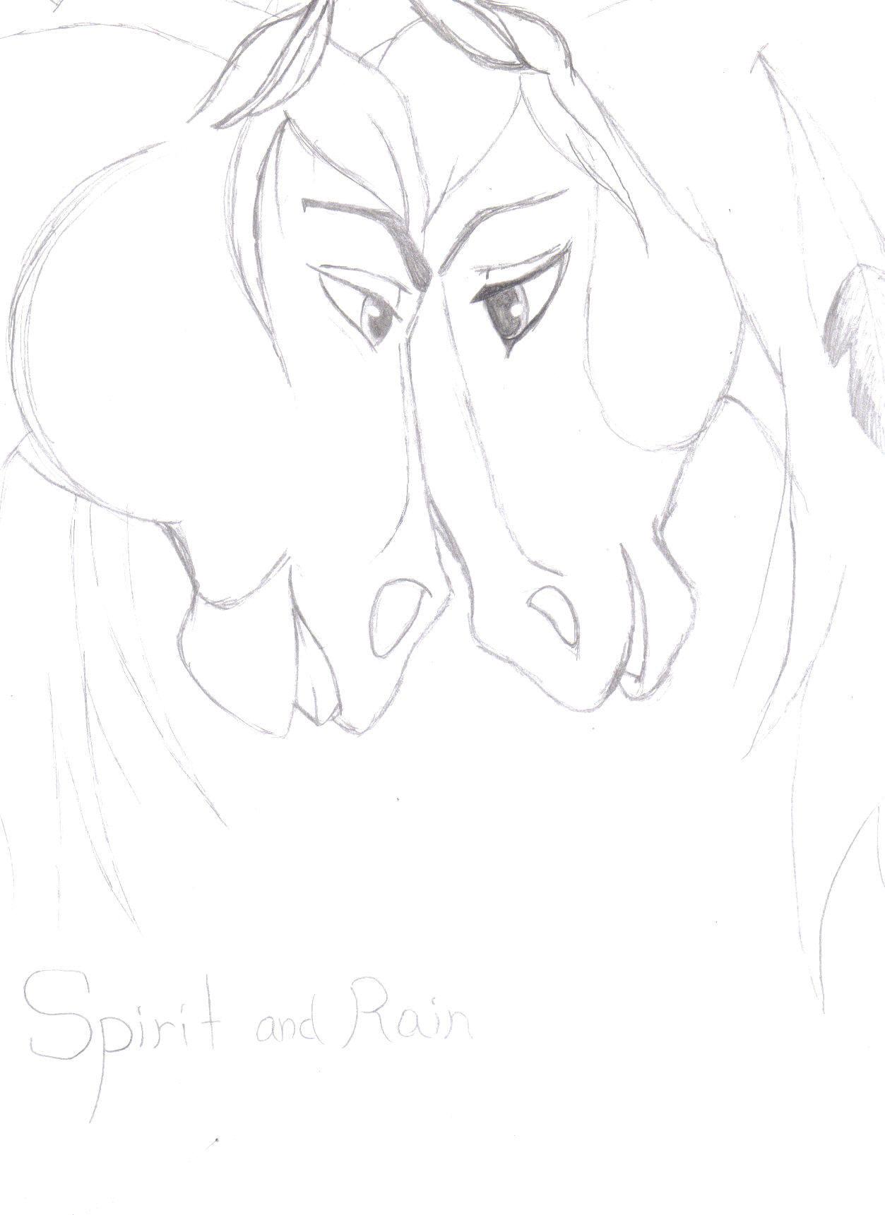 1253x1721 Spirit And Rain Spirit Stallion Of The Cimarron