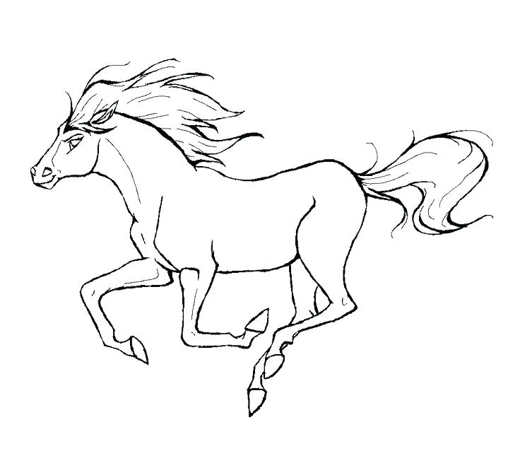 736x638 Simple Spirit Stallion Of The Cimarron Coloring Pages Image Best