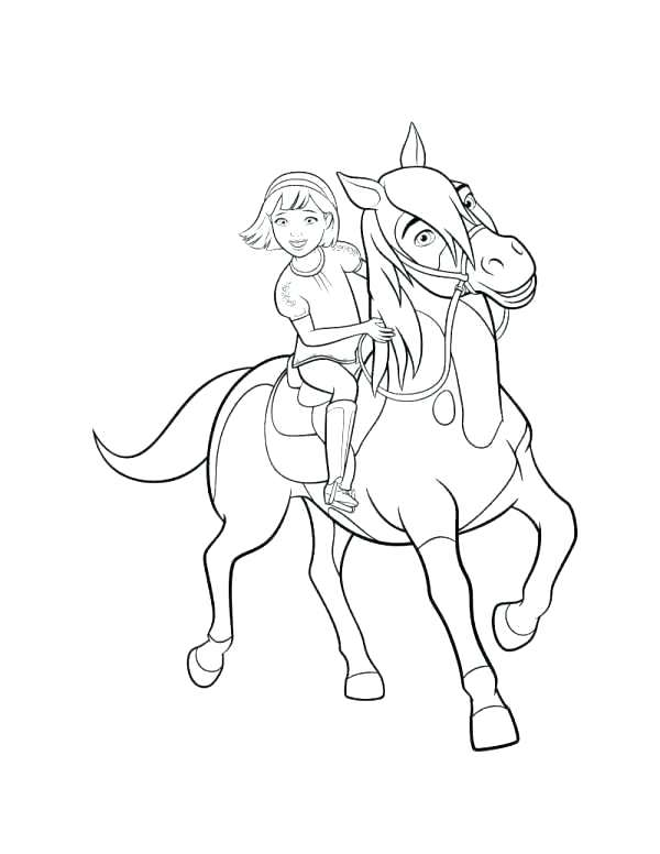 600x776 Spirit Stallion Cimarron Online Coloring Pages Of The Best Page