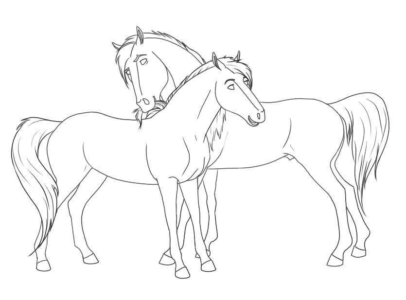 835x617 Spirit Stallion Coloring Spirit Stallion Coloring Book