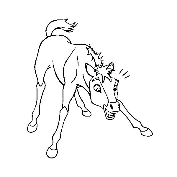 600x600 Spirit Stallion Of Cimarron Coloring Pages The Found On Best