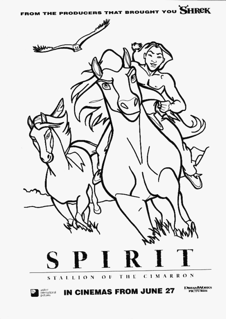 720x1018 Spirit Stallion Of The Cimarron Coloring Pages By Vina Mulierchile